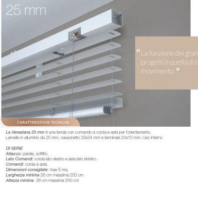 veneziane 25 mm
