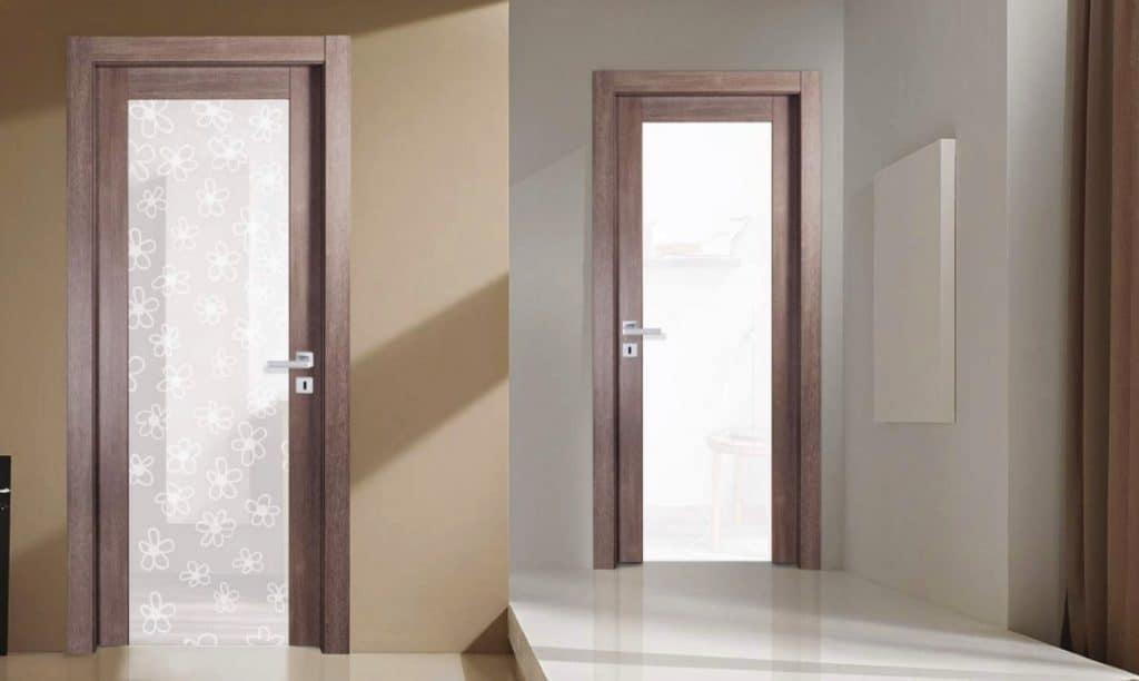 Porte interne con vetro